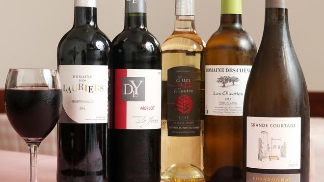 まるしげの南仏ワイン